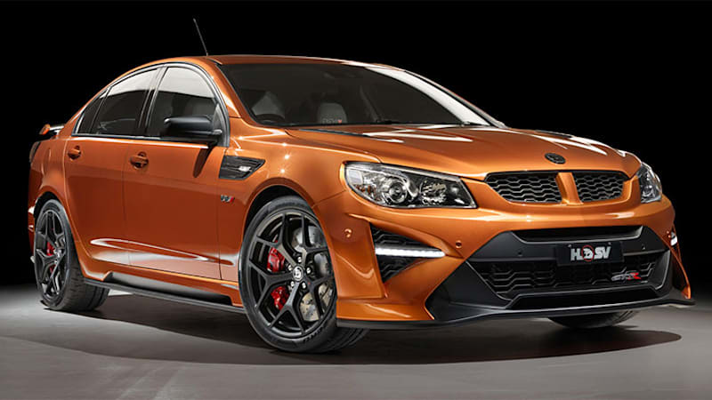 Holden Special Vehicles ends Commodore run with 635-hp HSV GTS-R W1 ...