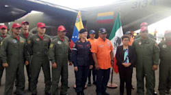 A pesar de la política, Venezuela envía ayuda a México tras el