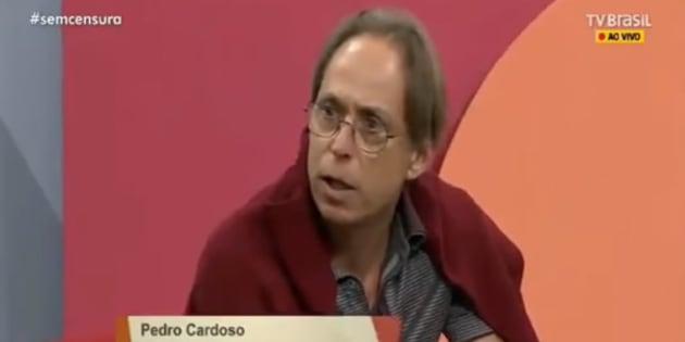 Pedro Cardoso dá esculacho 'épico' e abandona programa ao vivo