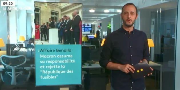 L'affaire Benalla offre des records d'audience à LCP et franceinfo