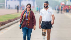 This Army Major Lost A Leg And Part Of His Intestines In The Kargil War, But He Still Became A