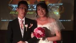 Solo una coppia giapponese poteva festeggiare le nozze