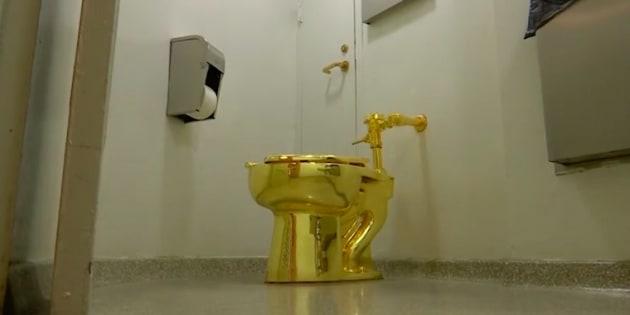 Trump espérait un Van Gogh, ce musée a proposé de lui prêter des toilettes en or.