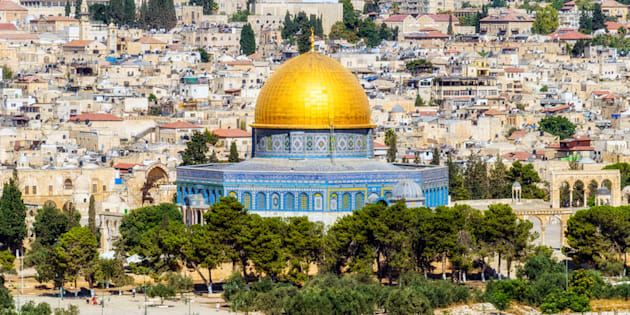 Jerusalén desde el Monte de los Olivos.