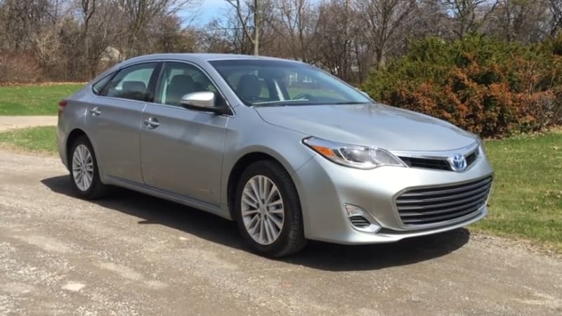 daily driver 2015 toyota avalon hybrid autoblog. Black Bedroom Furniture Sets. Home Design Ideas