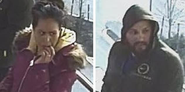 Metro Vancouver Transit Police say these unidentified suspects assaulted a 61-year-old woman on a bus in Surrey, B.C. on Tuesday.