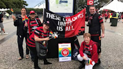 Remember Our Anti Homophobia Soccer Guy? His Protest Was A Raging