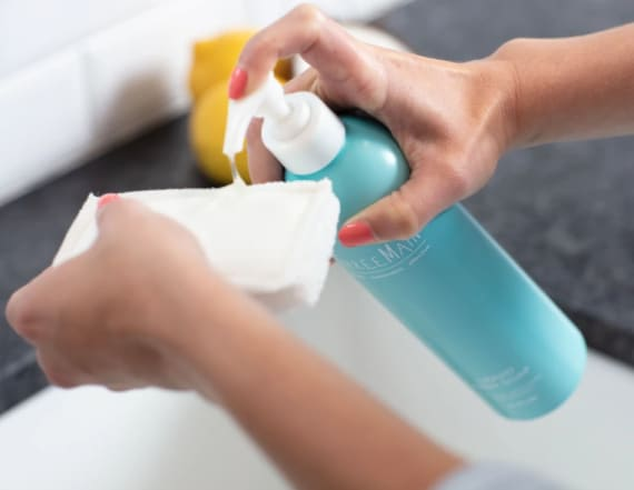 This delivery service sends you cleaning products