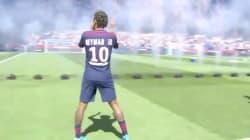 Les images de l'arrivée triomphale de Neymar sur la pelouse du Parc des