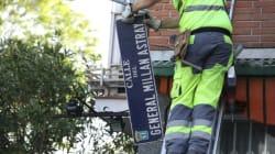 El Ayuntamiento de Madrid inicia en Latina y Carabanchel el cambio de placas del callejero