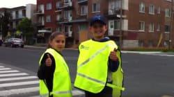 Ces jeunes brigadiers ne sont pas très fiers du comportement des automobilistes en zone