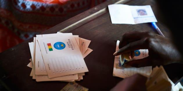 Un bureau de vote à Bamako au Mali le 12 août 2018 (photo d'illustration).