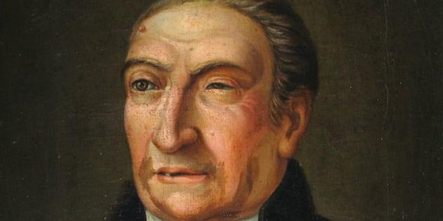 Retrato de Antoni de Martí Franquès conservado en la Real Academia de Ciencias y Artes de Barcelona.