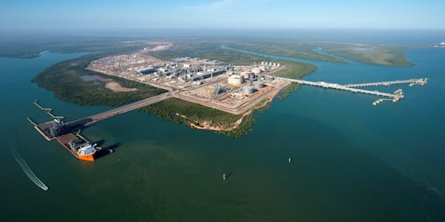 The Inpex Ichthys LNG project in Darwin