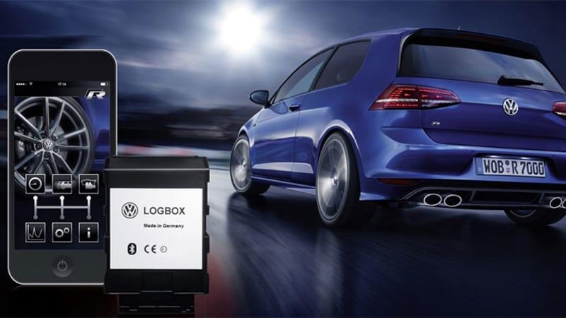 VW LogBox and Race App performance data logger for R models