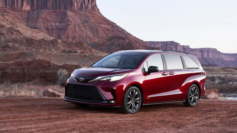 2021 Toyota Sienna breaks cover as a stylish, hybrid minivan