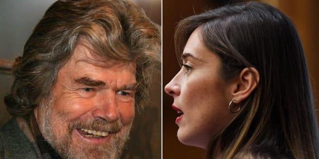 """Reinhold Messner scende in campo per Maria Elena Boschi a Bolzano: """"È molto preparata e creativa"""""""