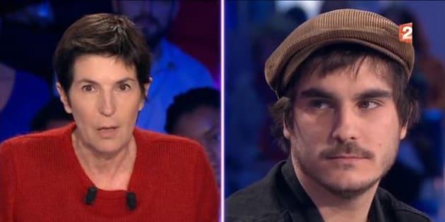 """""""On n'est pas couché"""": Gauvain Sers, dézingué par Christine Angot, lui répond en chanson"""