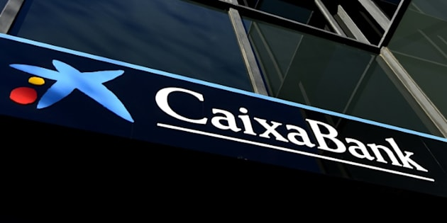 La sede del banco catalán Caixabank en Barcelona.