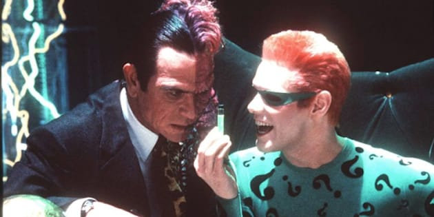 Jim Carrey Opens Up On 'Batman Forever' Feud With Tommy Lee Jones