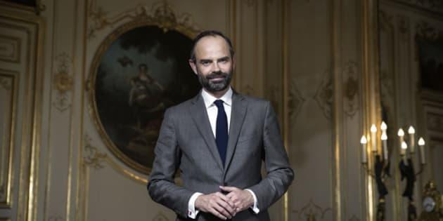Edouard Philippe à Matignon le 17 mai 2017.