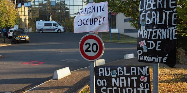 La maternité était occupée depuis une semaine, pour protester contre la fermeture annoncée du site.