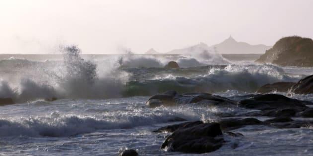 La Corse frappée par des rafales allant jusqu'à 225 km/h, les écoles fermées