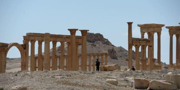 Moins d'un an après avoir été chassé par l'armée syrienne, Daech pénètre à nouveau dans Palmyre