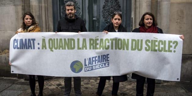 """Le 14 mars, les organisateurs de """"L'affaire du siècle"""" ont attaqué l'Etat en justice pour inaction climatique."""