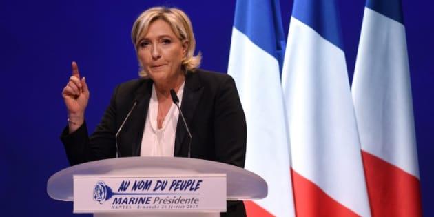 """Le syndicat de la Magistrature dénonce les """"menaces à peine voilées"""" de Marine Le Pen"""