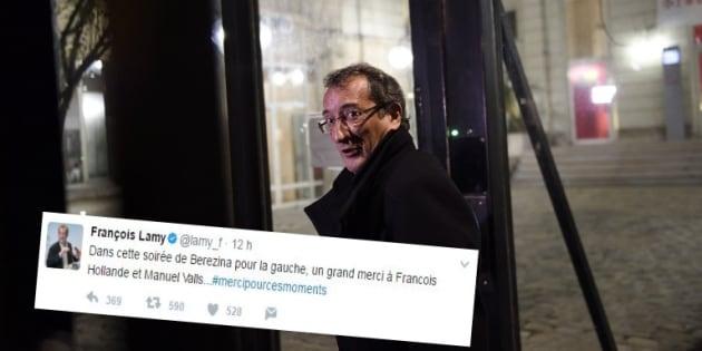 Résultats législatives 2017: le tweet plein d'amertume et d'ironie de François Lamy, député PS, à Hollande et Valls