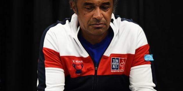 """Réforme de la Coupe Davis, un """"triste jour pour le tennis"""", a lancé Yannick Noah"""