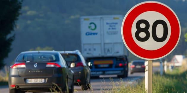 Près de 6 Français sur 10 sont contre l'abaissement à 80 km/h