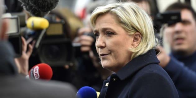 Emplois fictifs au Parlement européen: Marine Le Pen nie avoir reconnu quoi que ce soit