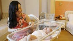 Un mois après l'accouchement, de plus en plus de mères chinoises choyées dans de luxueux centres