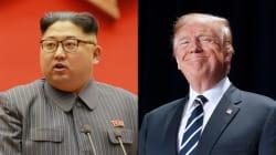 Rumbo a su histórica reunión con Kim Jong Un, Trump dice que todo va