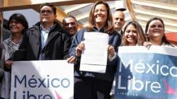 Margarita Zavala solicita registro de su asociación México Libre como nuevo partido