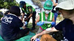 FOTOS: Tras los ocurrido en México, Los Ángeles se entrena para