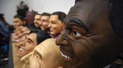 Máscaras mexicanas de futbolistas se están yendo al