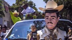 📷 Así celebran a Malverde, el santo del narco, en su 109