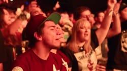 Les membres de Linkin Park ont préféré laisser le public chanter pour rendre hommage à Chester