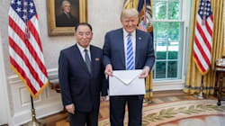 Watch Trump Tout 'Very Nice Letter' From Kim Jong Un, Then Say He Hasn't Opened