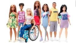 Barbie con silla de ruedas y Barbie con prótesis: las nuevas muñecas de