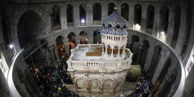 Le tombeau du Christ dévoilé après rénovation