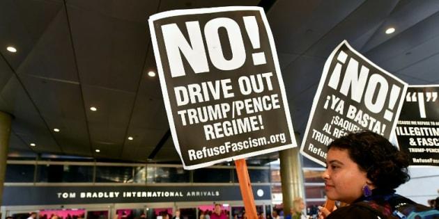 Le décret migratoire de Donald Trump est entré en vigueur