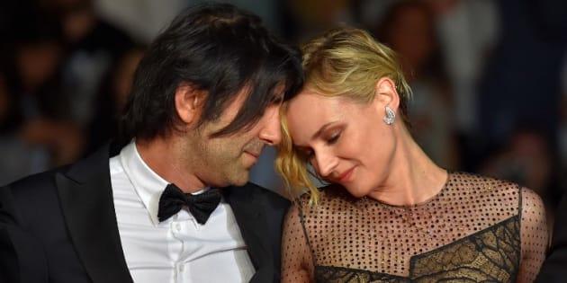 Au Festival de Cannes 2017, Diane Kruger et Fatih Akin complices sur le tapis rouge