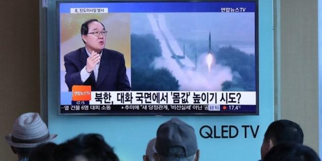 La Corée du Nord procède à un nouveau tir de missile et teste le nouveau dirigeant sud-coréen