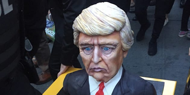 Nuit des élections américaines 2016: Ce gâteau triste de Donald Trump a beaucoup inspiré les internautes