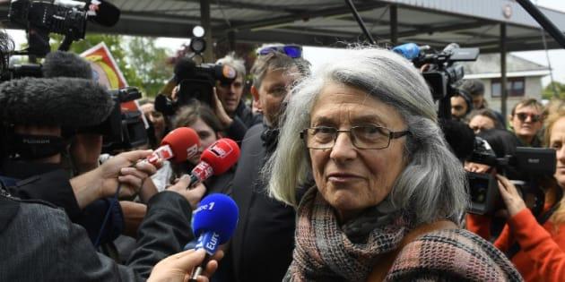 Catherine Blein à Dol-de-Bretagne le 4 mai 2017.