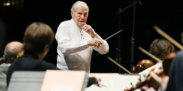 Georges Prêtre, chef d'orchestre français, est mort